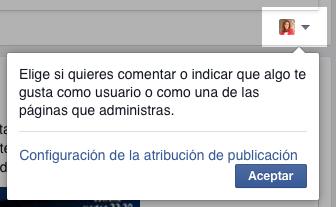 gestionar paginas Facebook