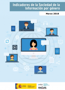 Tecnología mujeres hombres España