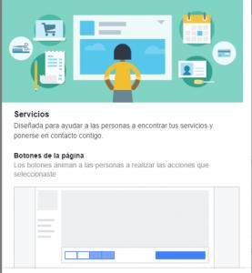 Plantilla Facebook Servicios