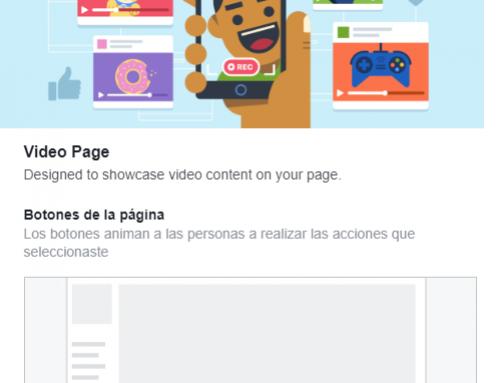 Cómo cambiar la plantilla y pestañas en tu página de Facebook