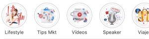 Personalizar Historias Destacadas Instagram