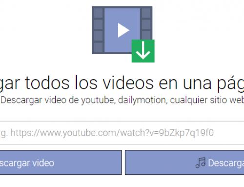 VideoCyborg, herramienta gratuita online para descargar vídeos de cualquier web o red social