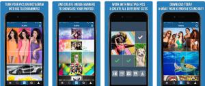 Imagenes como puzzle Instagram