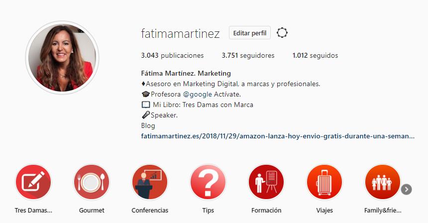 Compartir historias destacadas instagram
