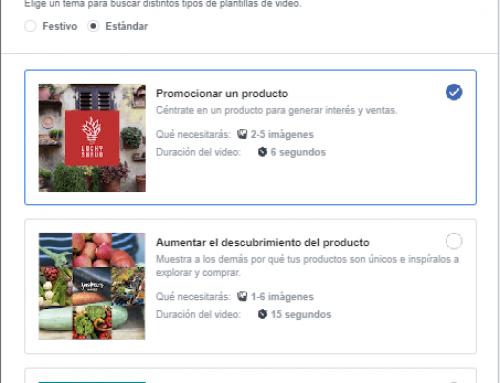 Cómo funciona el Kit de Vídeos con plantillas de Facebook