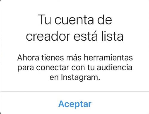 Ya están aquí los nuevos perfiles de Creadores de Instagram