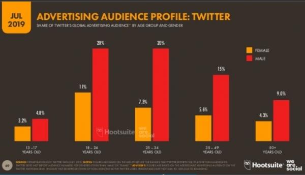 Perfil usuarios Twitter