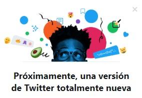 Nueva versión Twitter