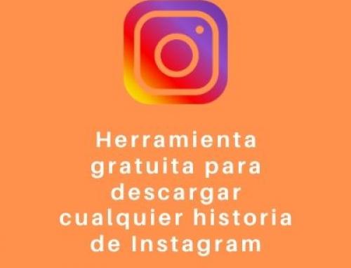 Herramienta gratuita para descargar cualquier historia de Instagram