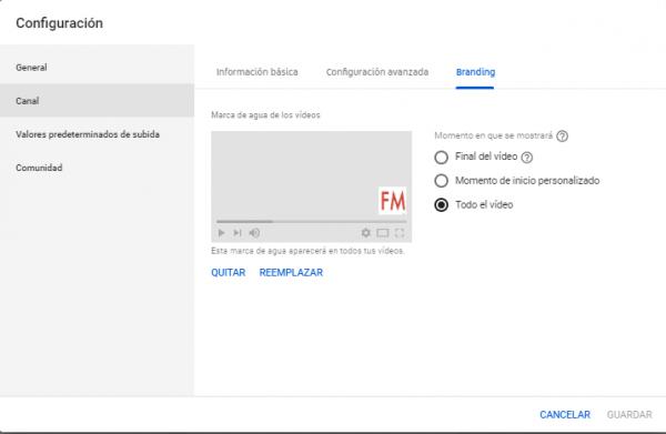 Cómo crear una caja de suscripción Youtube