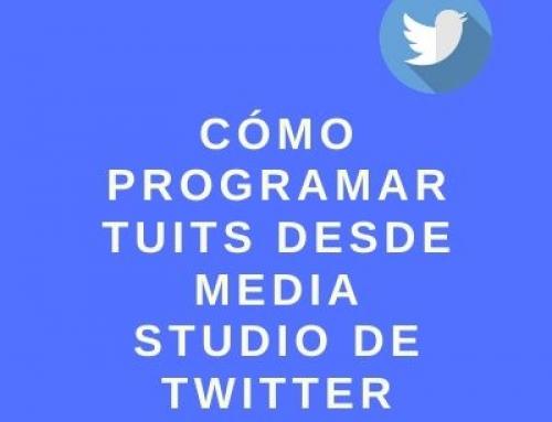 Cómo programar tuits desde Media Studio de Twitter
