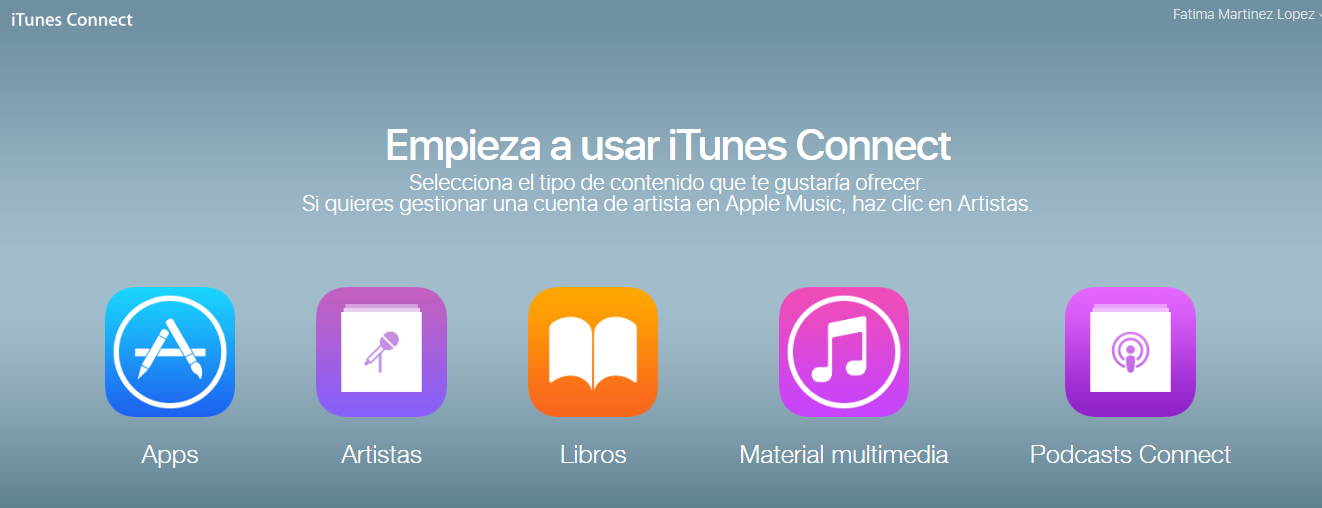Subir podcast Itunes