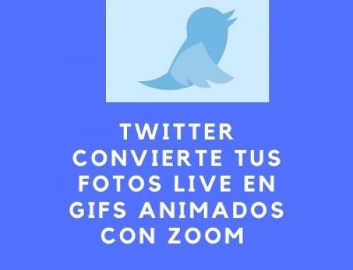 Twitter convierte tus fotos Live en Gifs con Zoom