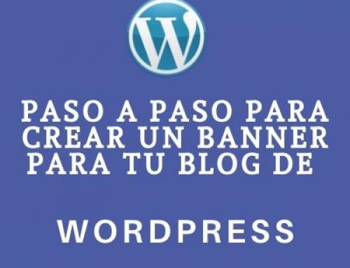 Cómo hacer un banner con enlace para tu blog WordPress