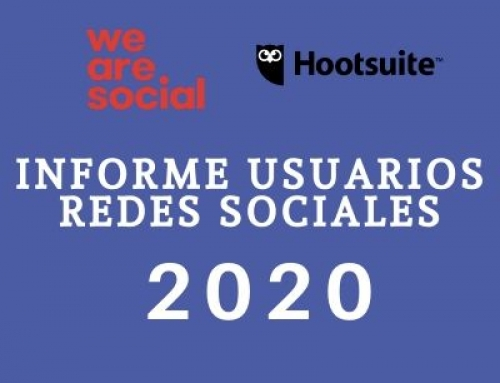 Informe Usuarios Redes Sociales 2020 We Are Social y Hootsuite
