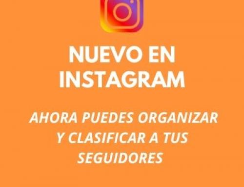 Instagram ya permite flitrar y clasificar a los usuarios que sigues