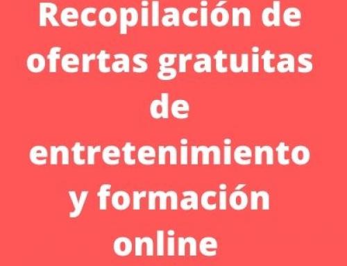 Recopilación de enlaces de ocio y formación online todo gratuito