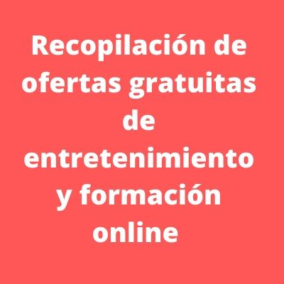 formación gratuita online