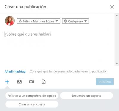 cómo crear encuesta linkedin