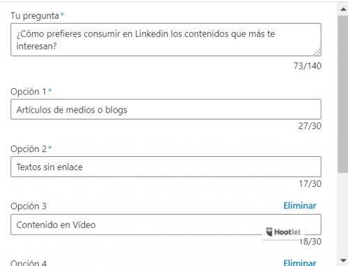 Cómo realizar Encuestas en Linkedin
