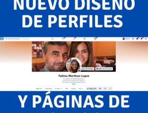 Facebook cambia totalmente el diseño de nuestros perfiles y páginas