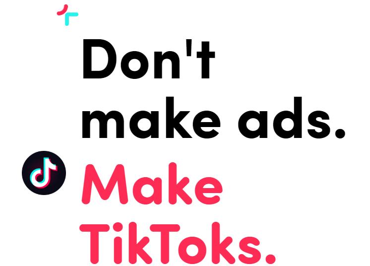 Publicidad en TikTok