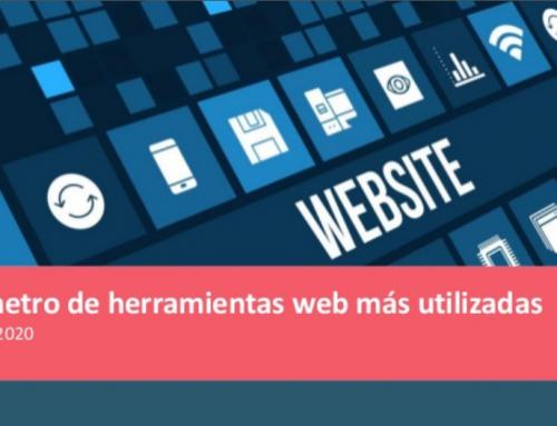 Barómetro de Herramientas Web más utilizadas en 2020