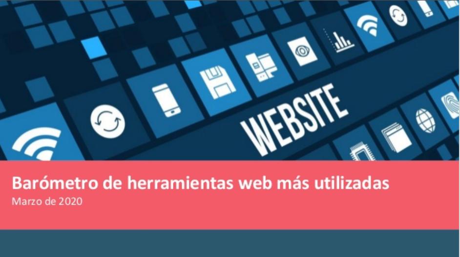 herramientas web más utilizadas 2020