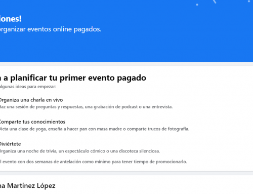 Facebook ya permite realizar eventos online de pago en las páginas