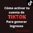 Ganar dinero en TikTok