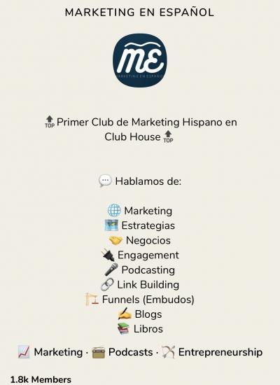 Cómo crear un Club en Clubhouse