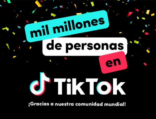 TiKTok supera los 1.000 millones de usuarios activos mensuales