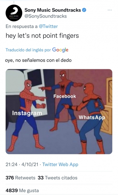 Caída Facebook en todo el mundo